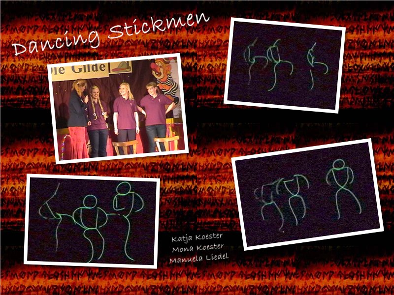 Dancing Stickmen