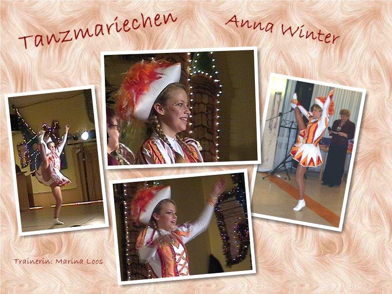 Tanzmariechen Anna